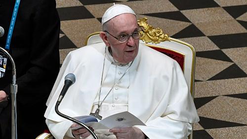 Radnótitól idézett Ferenc pápa budapesti látogatása során